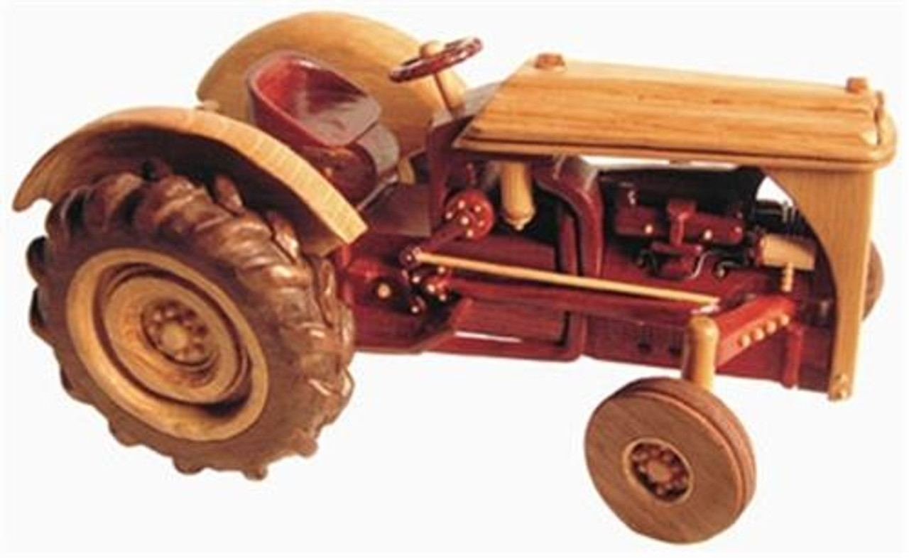 Cherry Tree Toys Red Belly Tractor Parts Kit