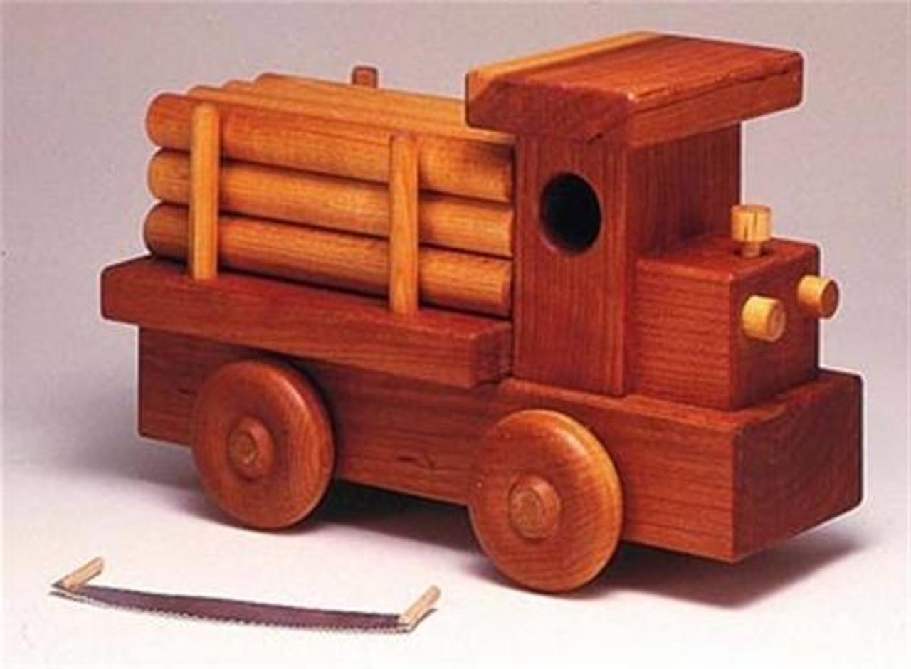 Cherry Tree Toys Log Truck Parts Kit