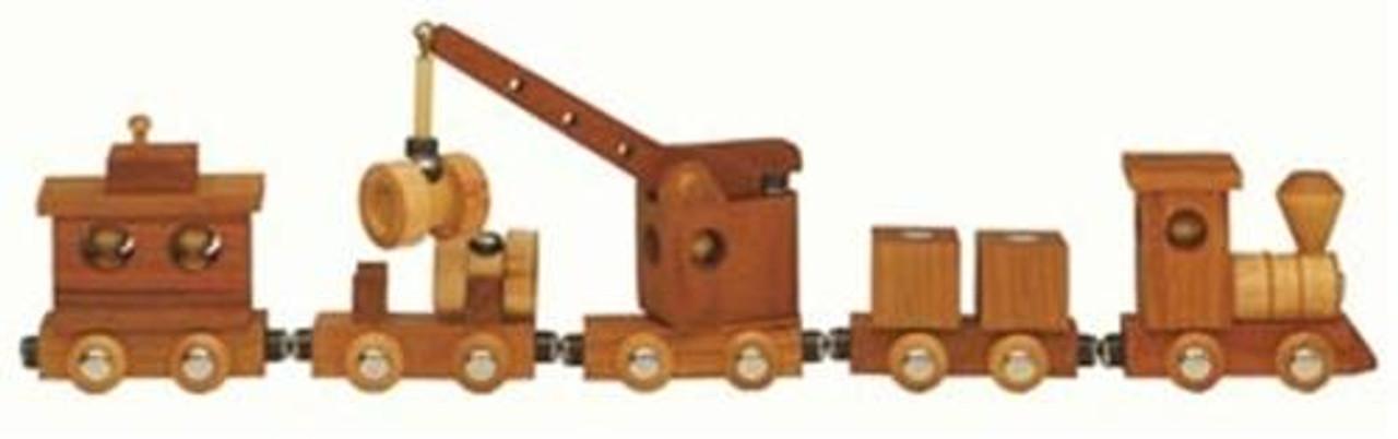Cherry Tree Toys Magnetic Train Parts Kit