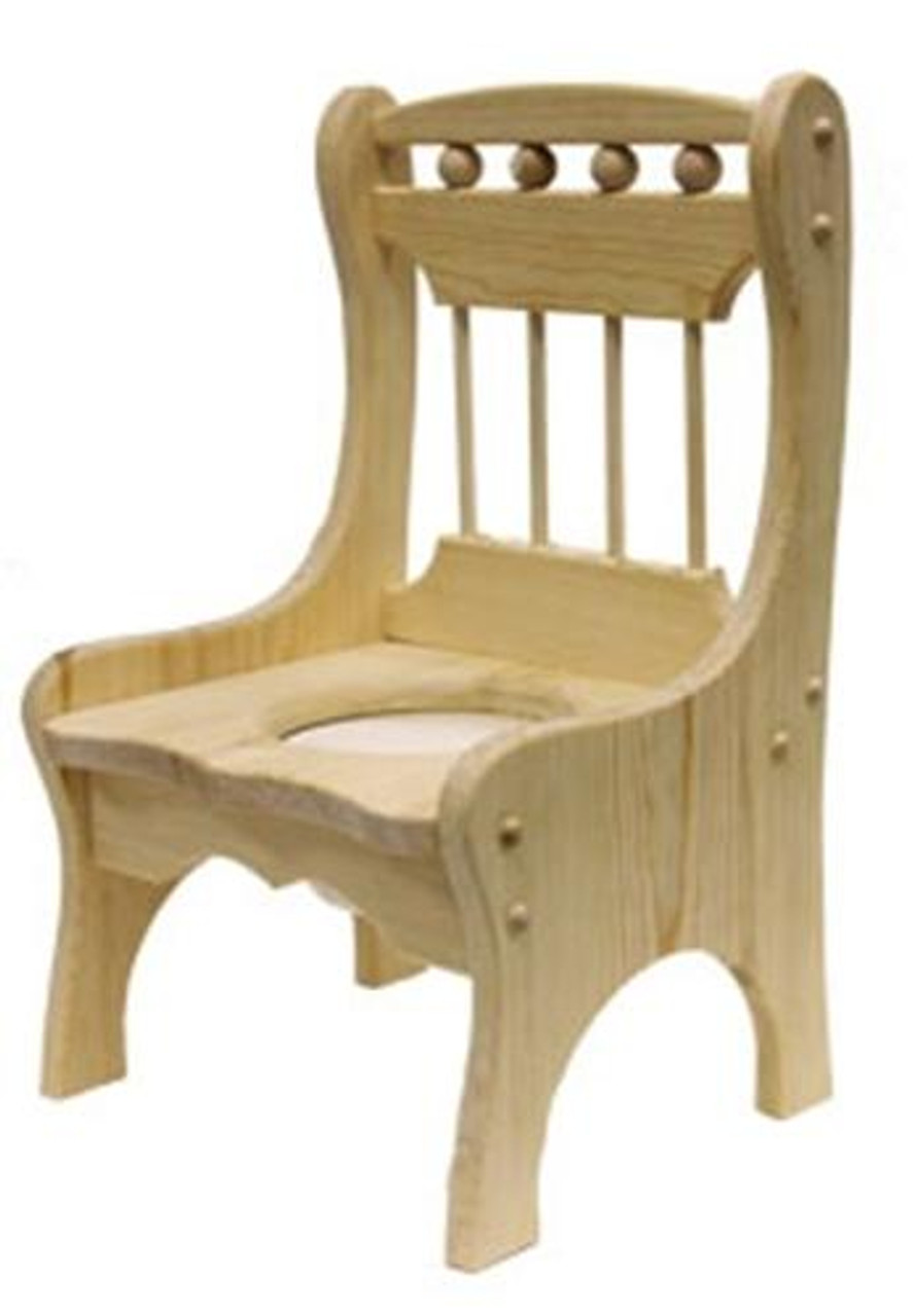 Cherry Tree Toys Childrens Potty Chair Ready to Assemble Kit