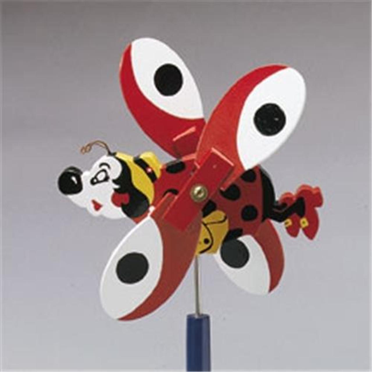 Cherry Tree Toys Lady Bug Whirligig DIY Kit
