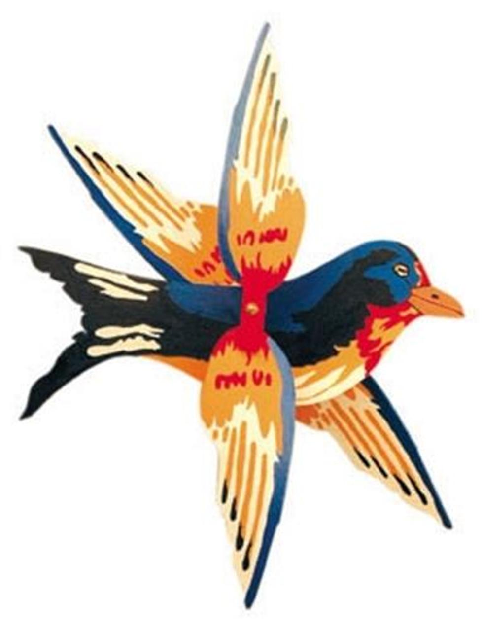 Cherry Tree Toys Barn Swallow Whirligig DIY Kit