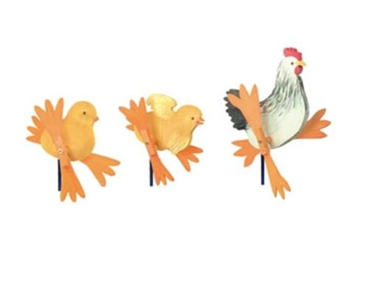 Cherry Tree Toys Mama Hen and Chicks Whirligig DIY Kit