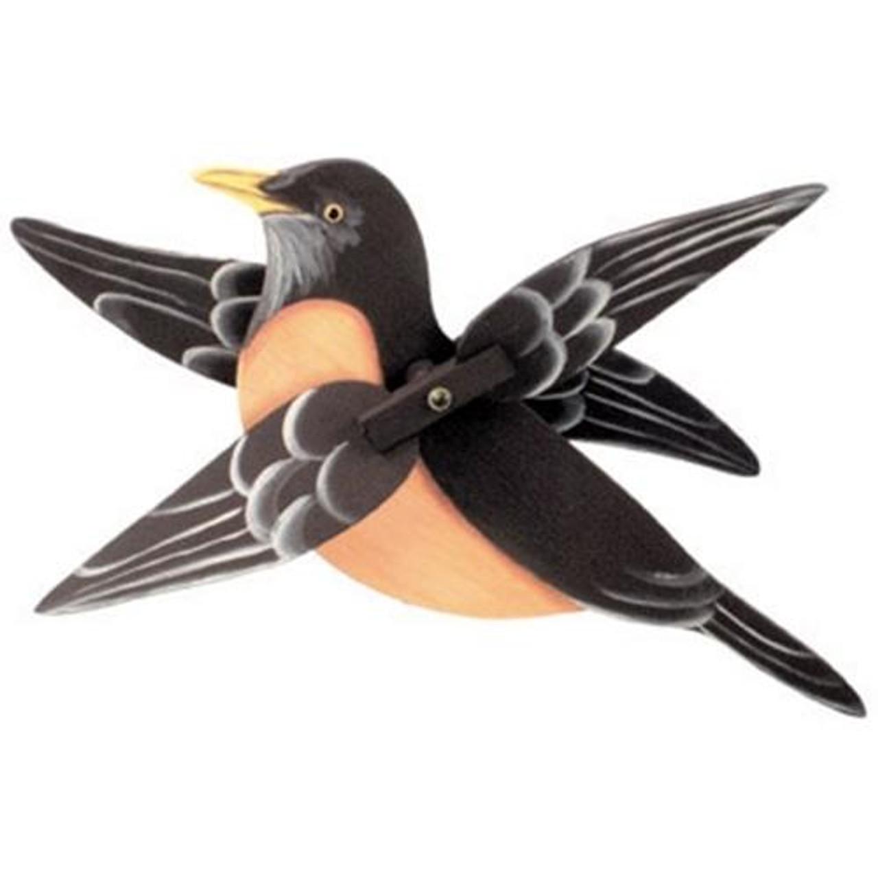 Cherry Tree Toys Robin Whirligig DIY Kit