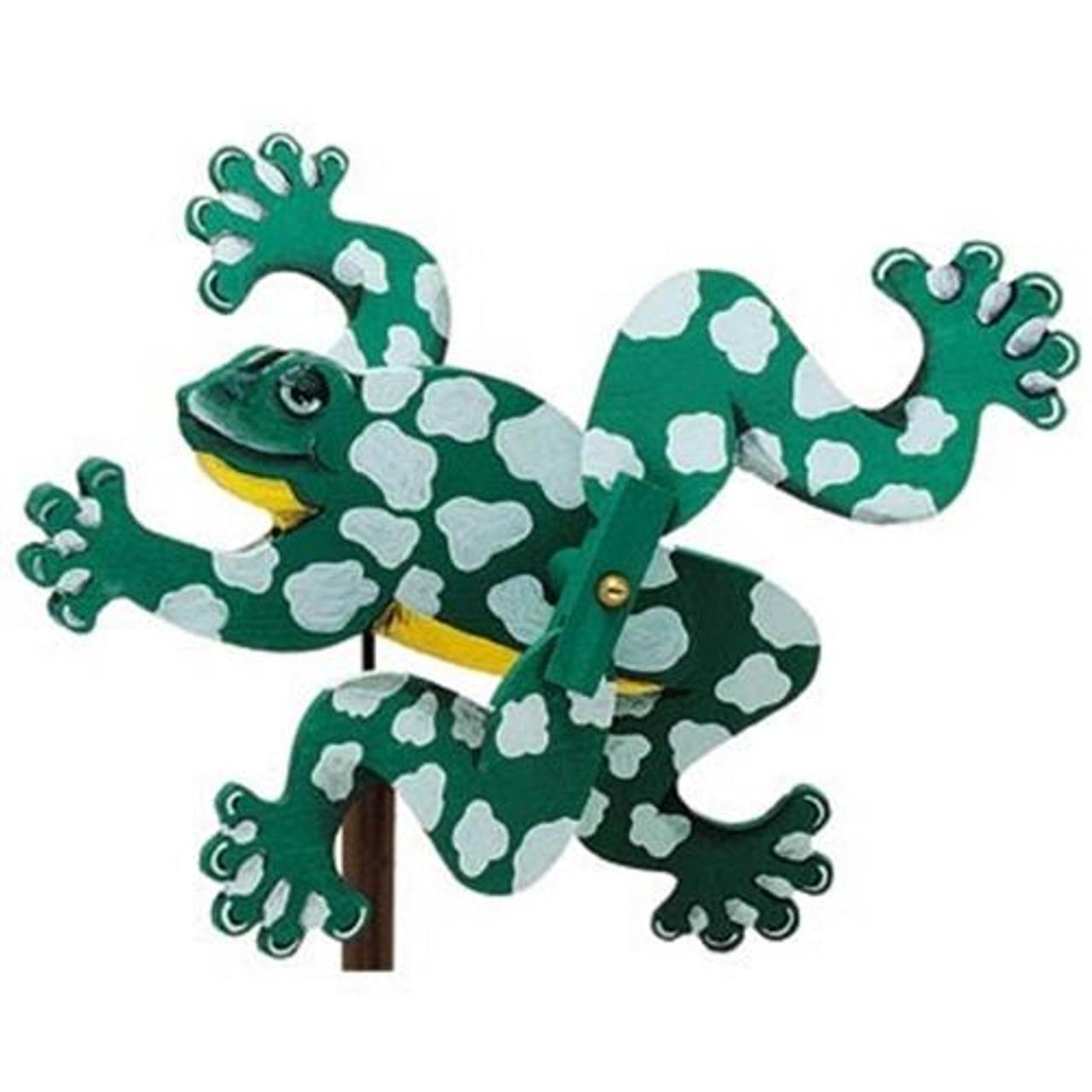 Cherry Tree Toys Frog Whirligig DIY Kit