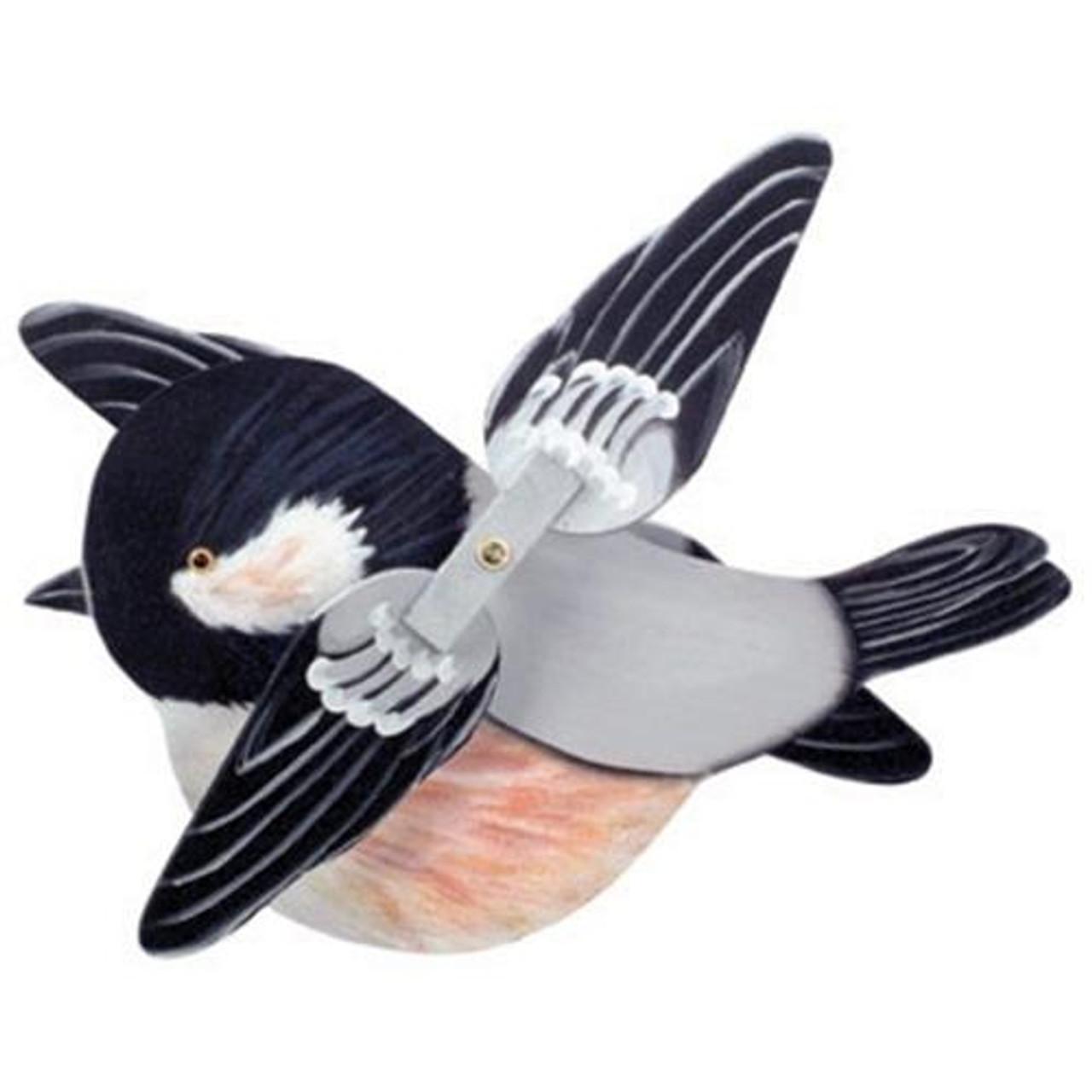 Cherry Tree Toys Black Cap Chickadee Whirligig DIY Kit