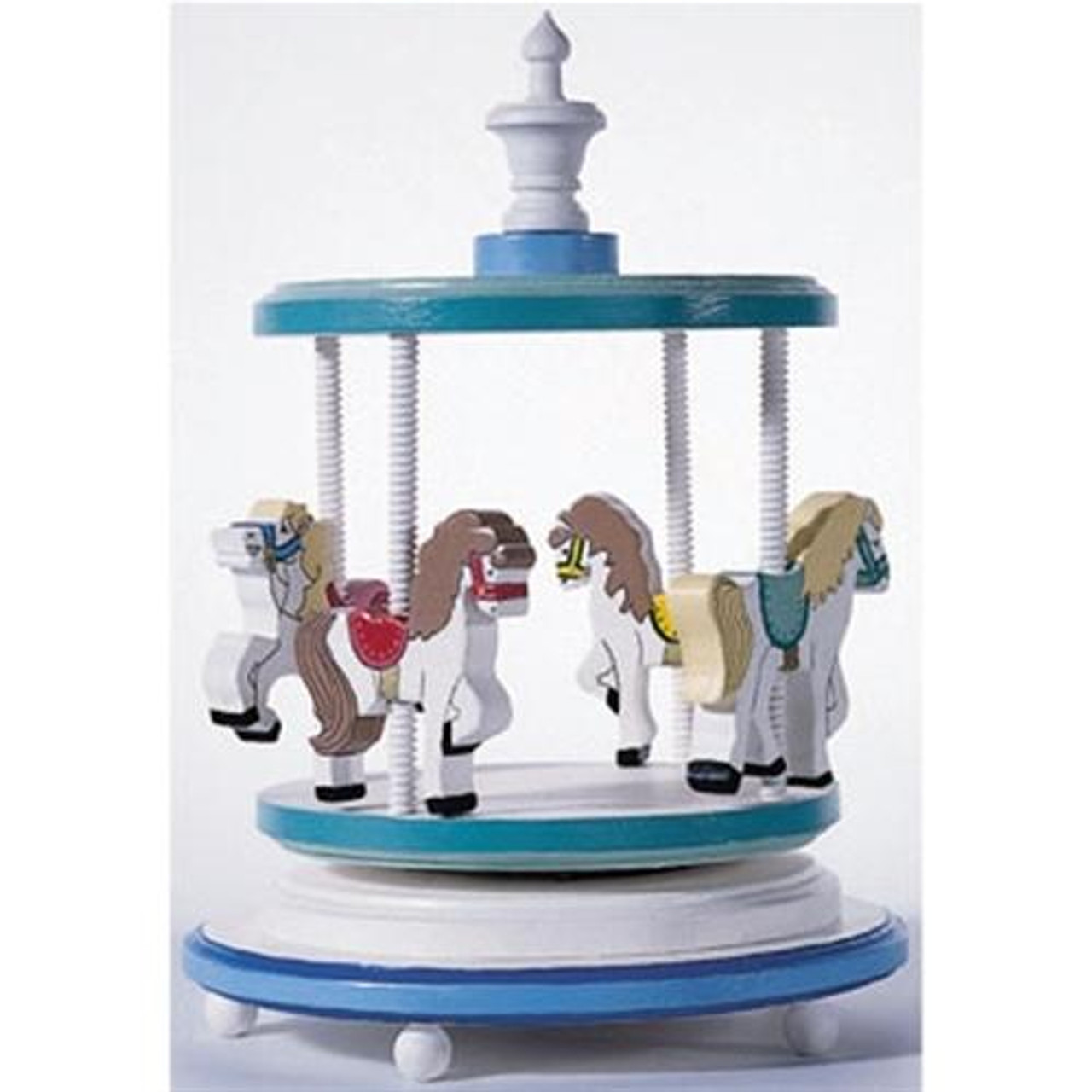 Cherry Tree Toys Musical Pony Carousel Ready to Assemble Kit