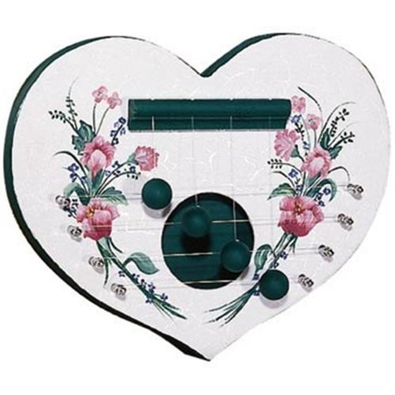 Cherry Tree Toys Floral Heart Door Harp Ready to Assemble Kit