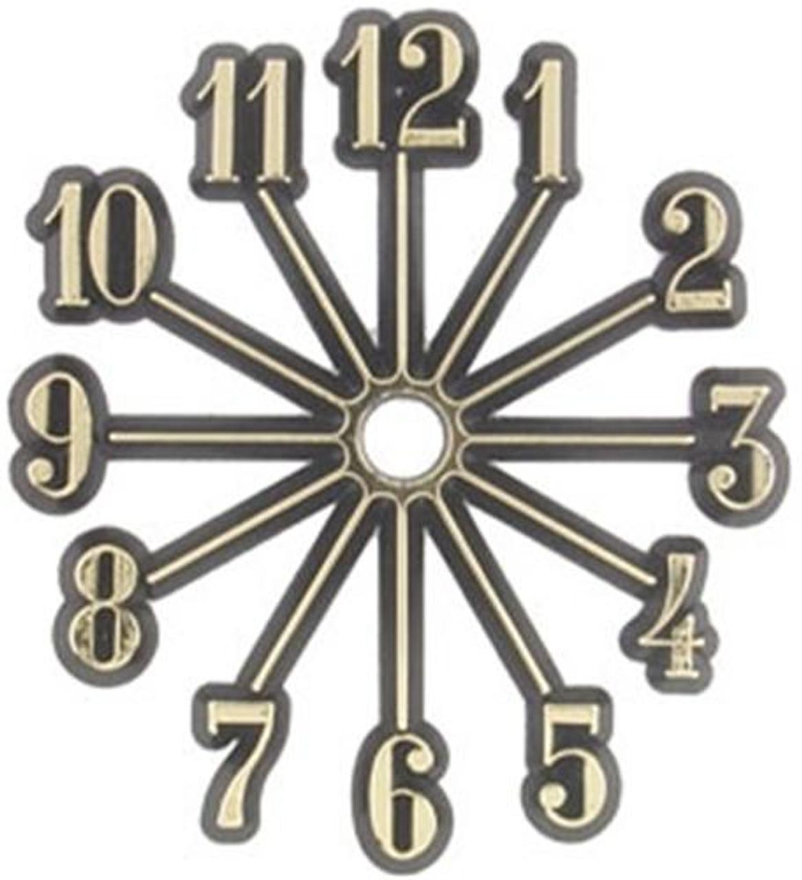 Cherry Tree Toys Sunburst Clock Dials