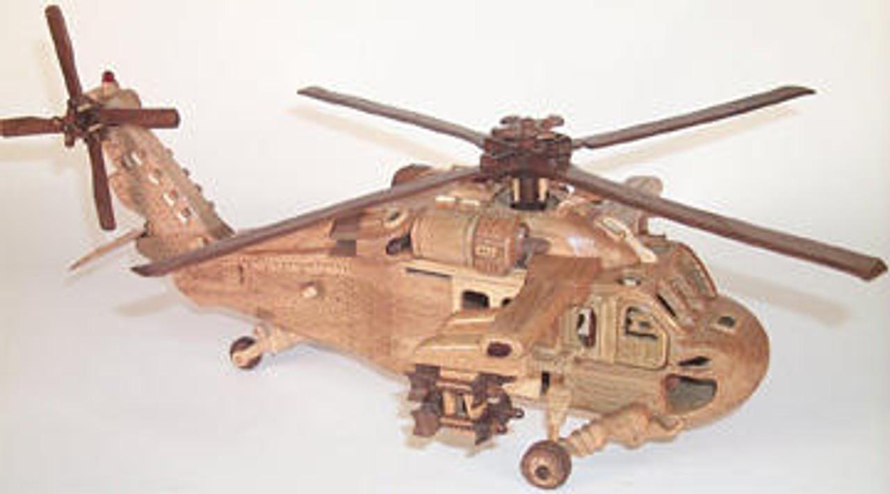 Cherry Tree Toys Blackhawk Helicopter Plan