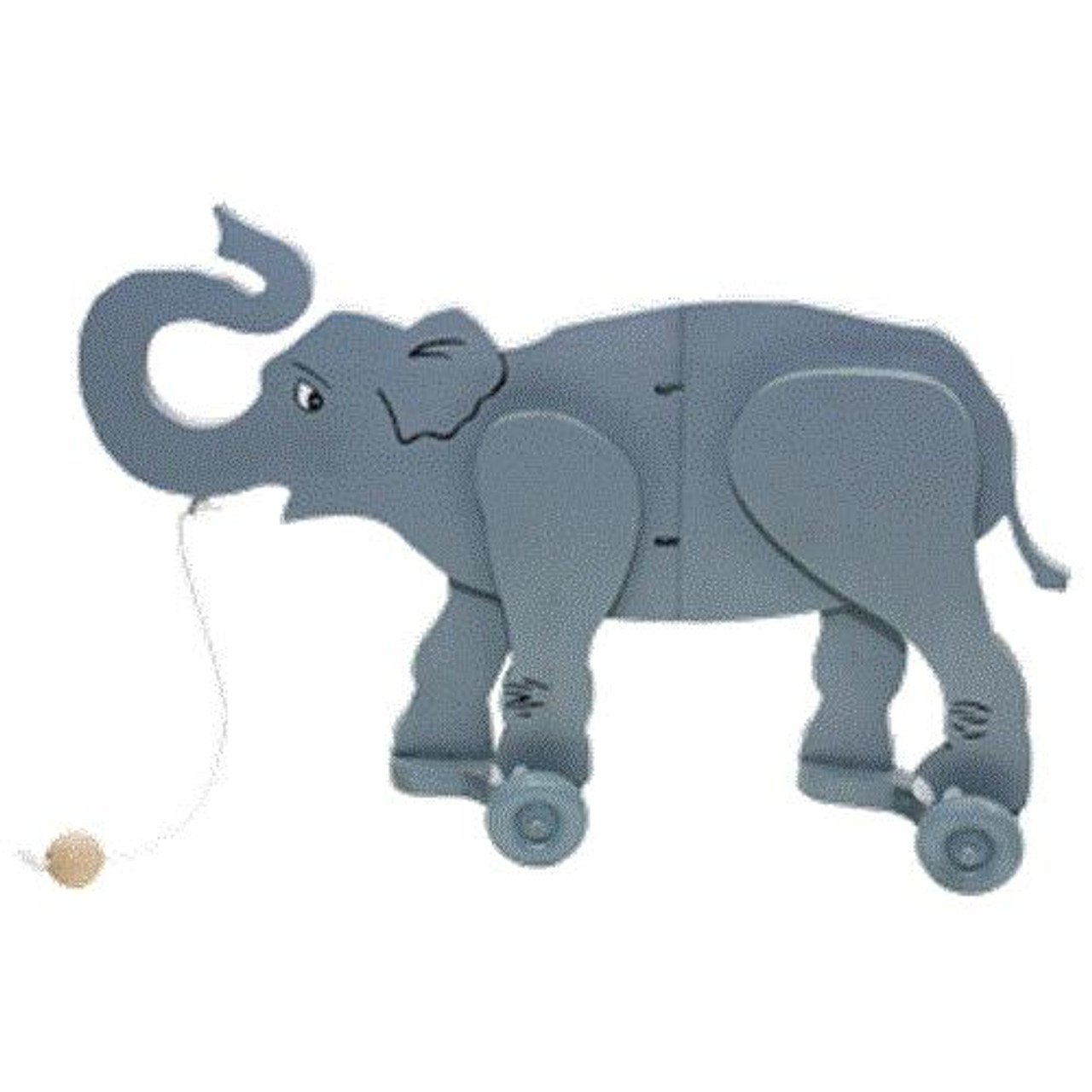 Cherry Tree Toys Elephant Wiggle Toy Plan