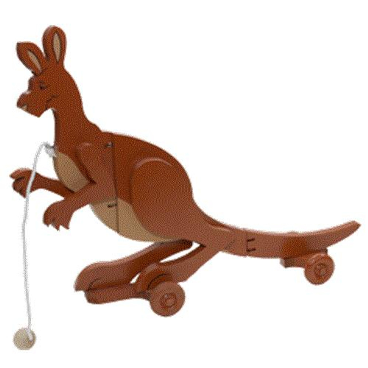 Cherry Tree Toys Kangaroo Wiggle Toy Plan