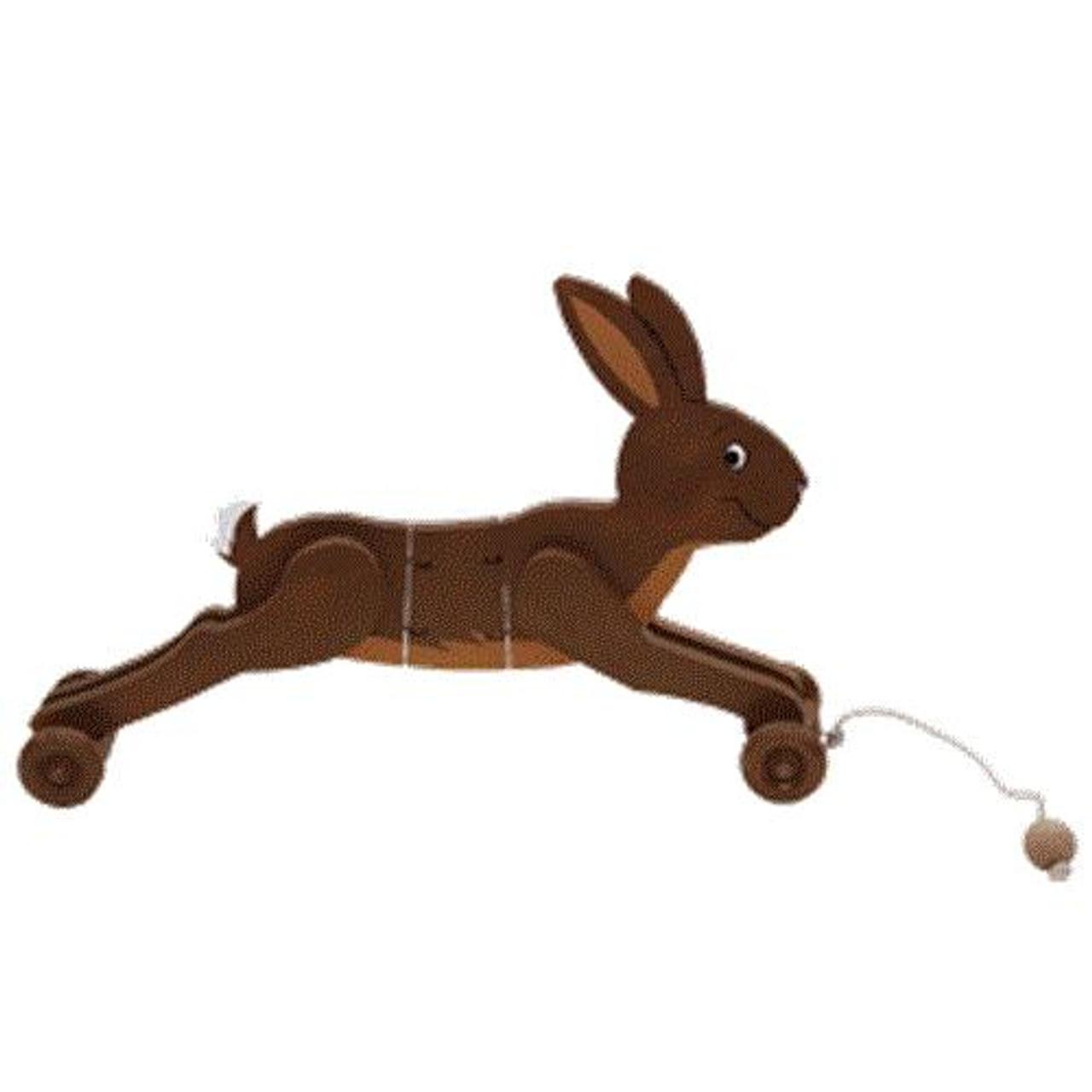 Cherry Tree Toys Rabbit Wiggle Toy Plan