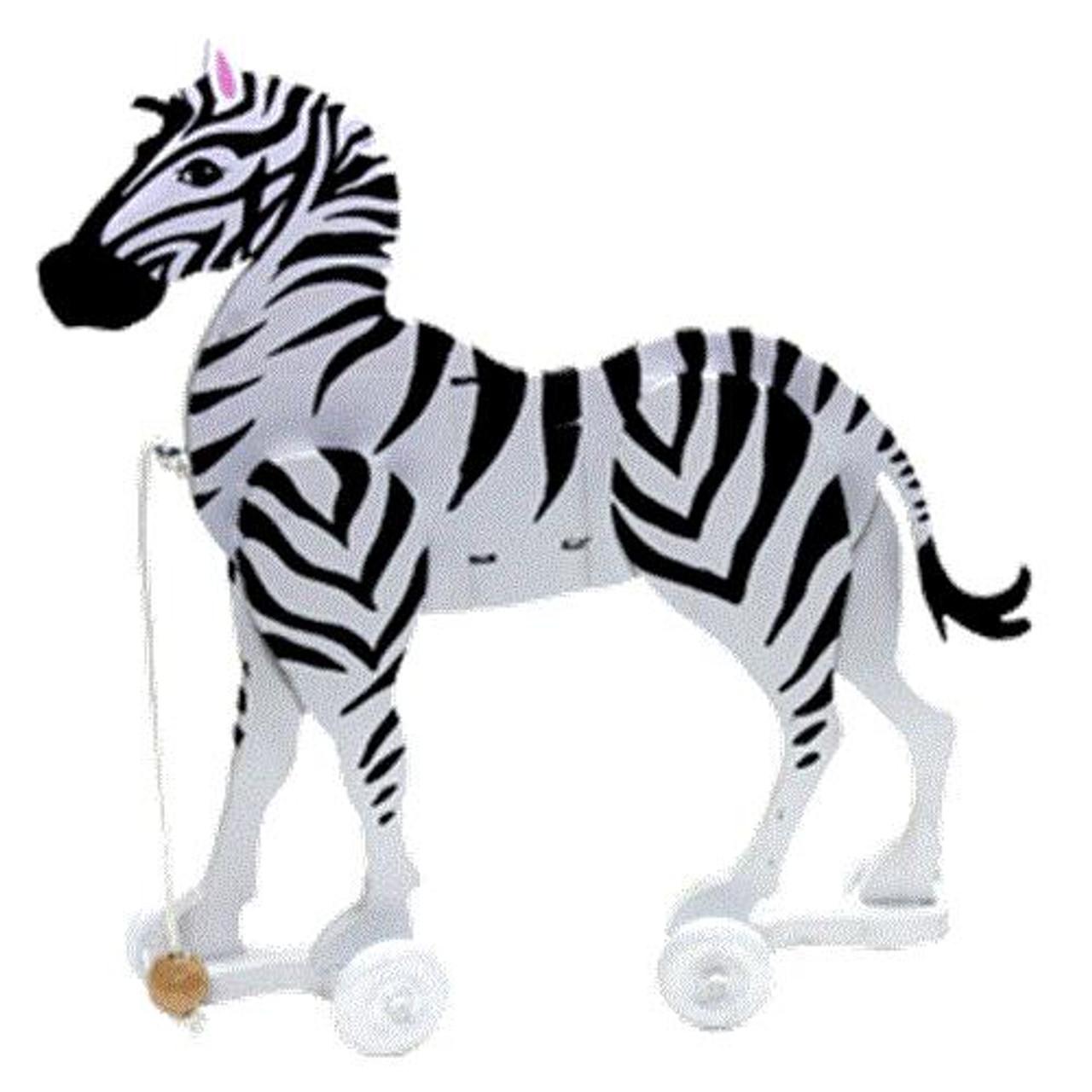 Cherry Tree Toys Zebra Wiggle Toy Plan