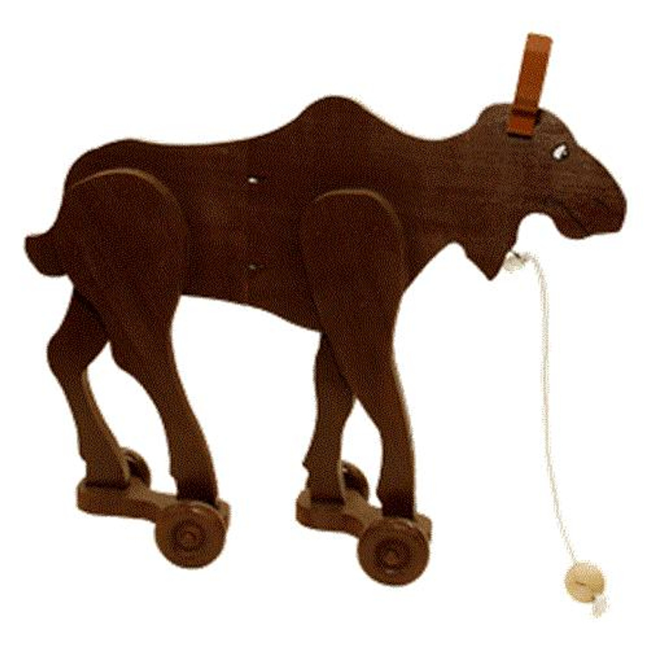 Cherry Tree Toys Moose Wiggle Toy Plan