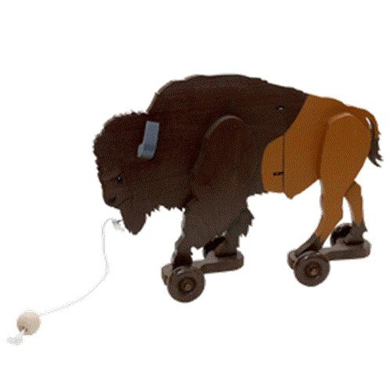 Cherry Tree Toys Buffalo Wiggle Toy Plan