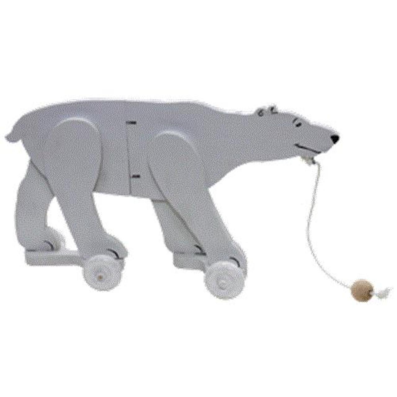 Cherry Tree Toys Polar Bear Wiggle Toy Plan