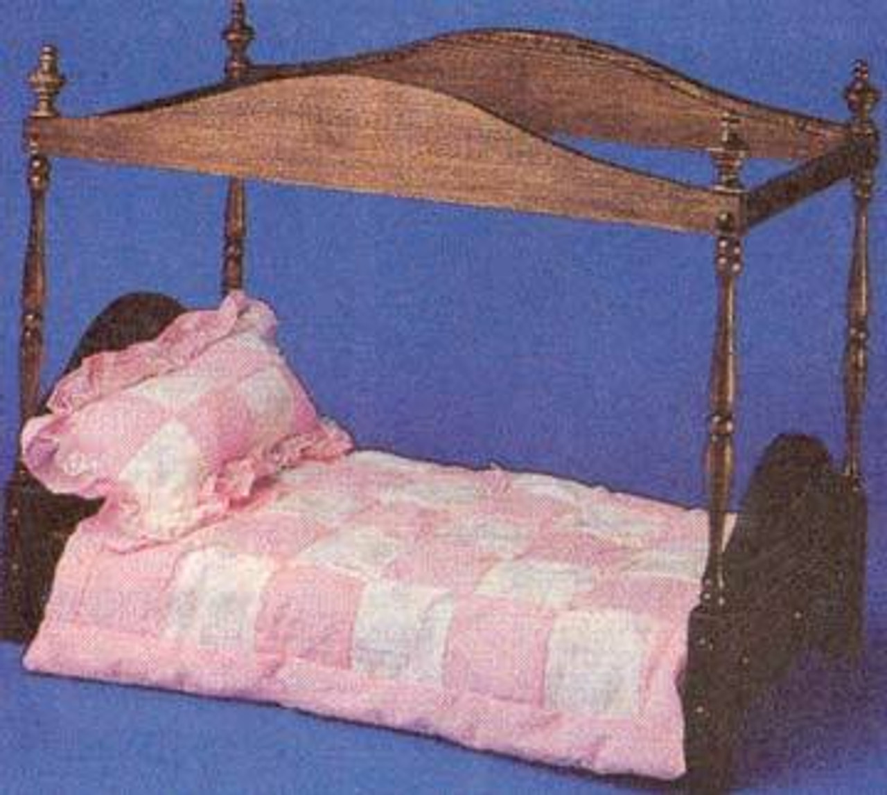 Cherry Tree Toys Large Poster Bed Plan