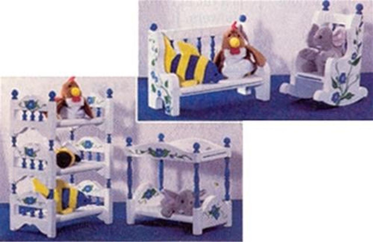 Cherry Tree Toys Mini Baby Furniture Plan