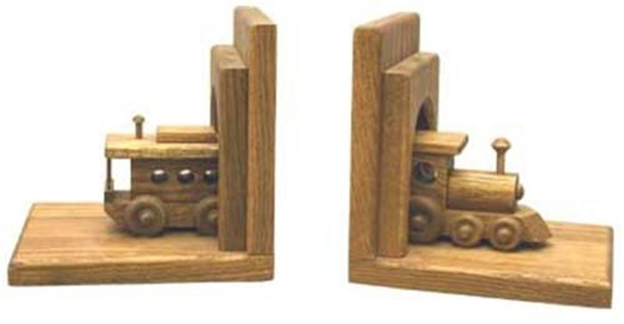 Cherry Tree Toys Train Bookends Plan