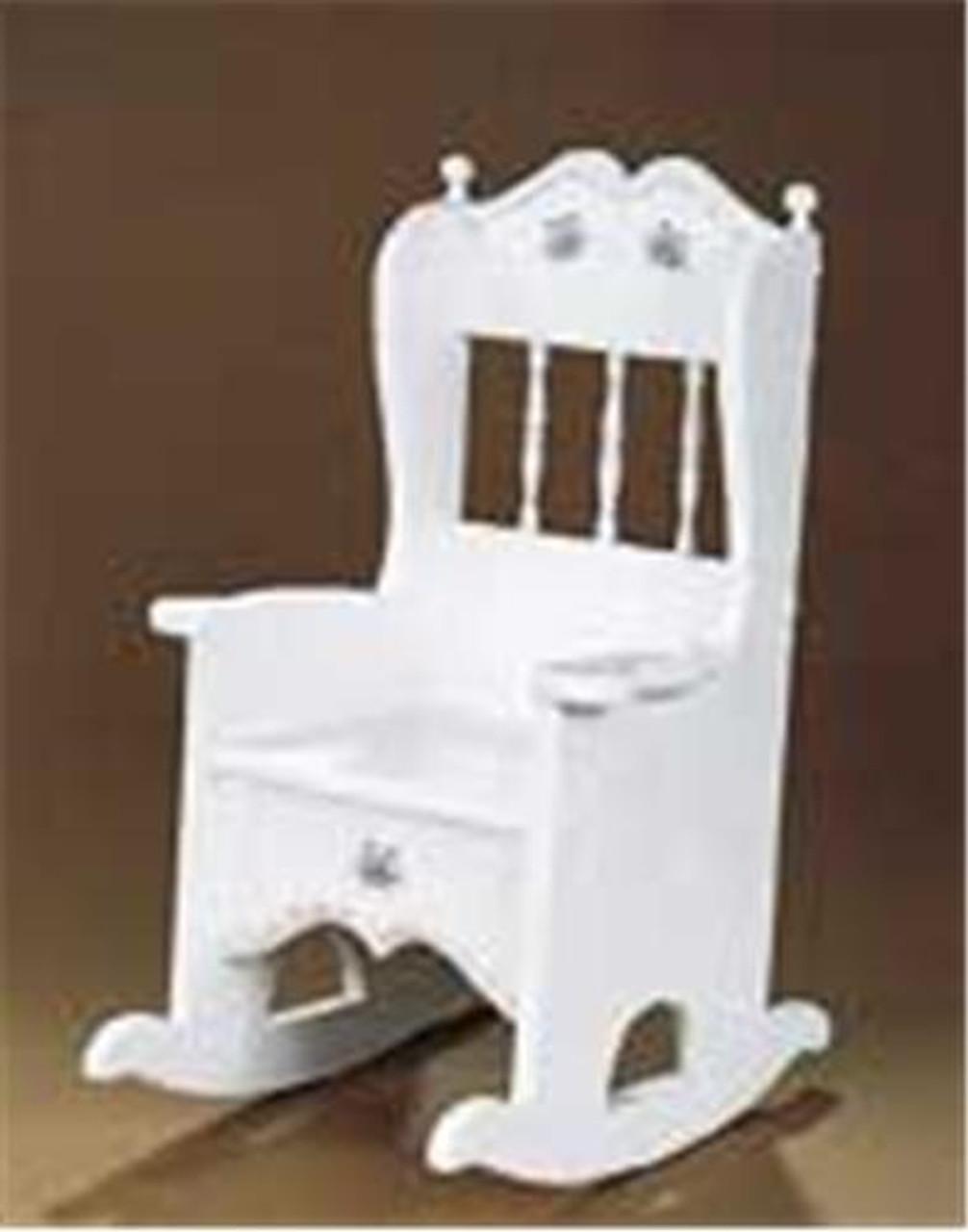 Cherry Tree Toys Rocker Potty Chair Plan