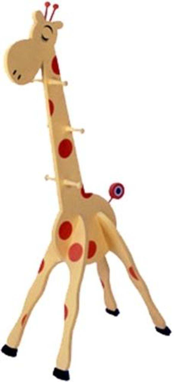 Giraffe Clothes Rack Woodworking Plan