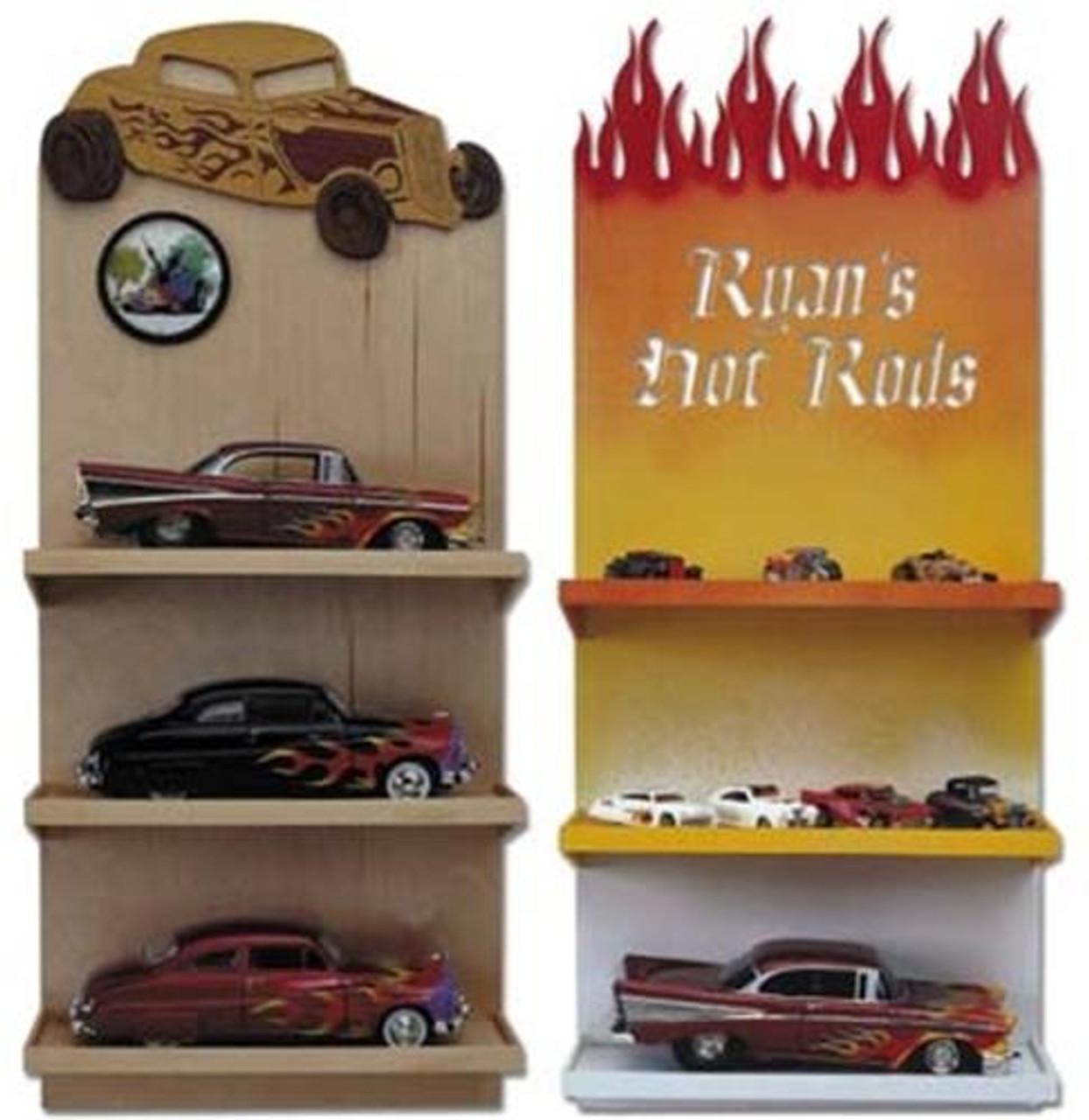 Wildwood Designs Hot Rod Shelf and Clock Plan