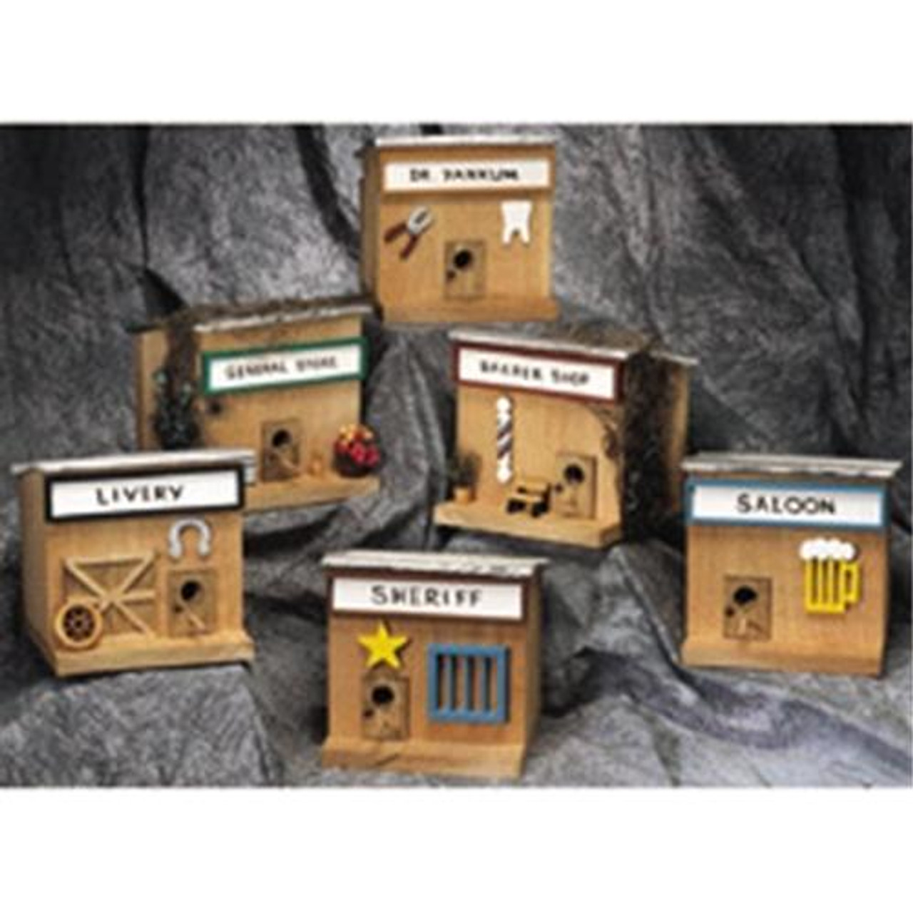 Cherry Tree Toys Old West Houses Plan