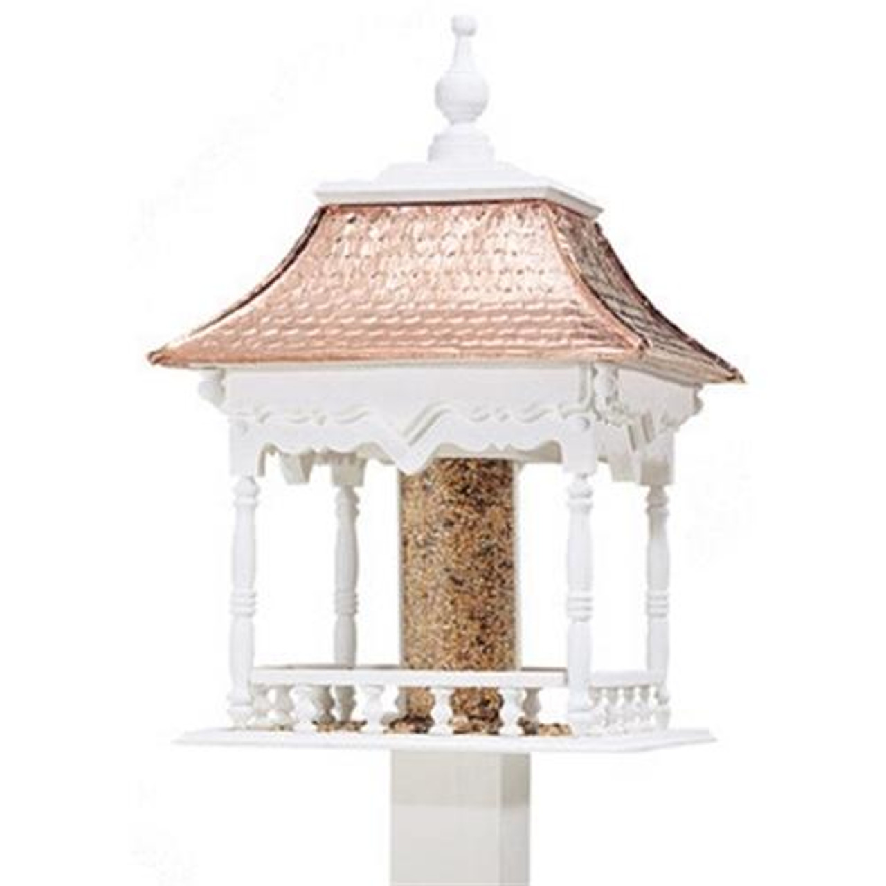 Cherry Tree Toys Curved Copper Roof Feeder Plan