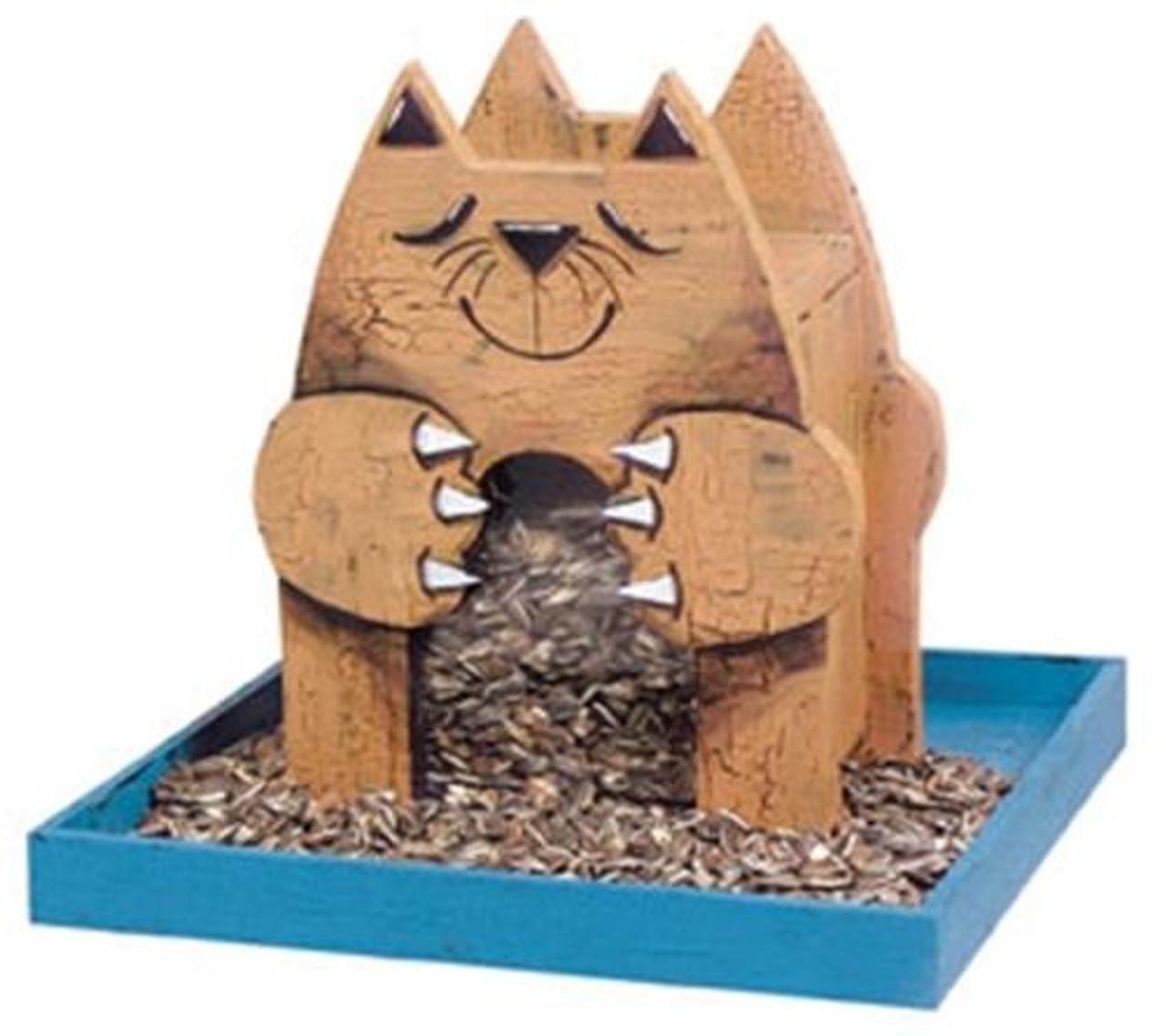 Cherry Tree Toys Gold Cat Feeder Plan