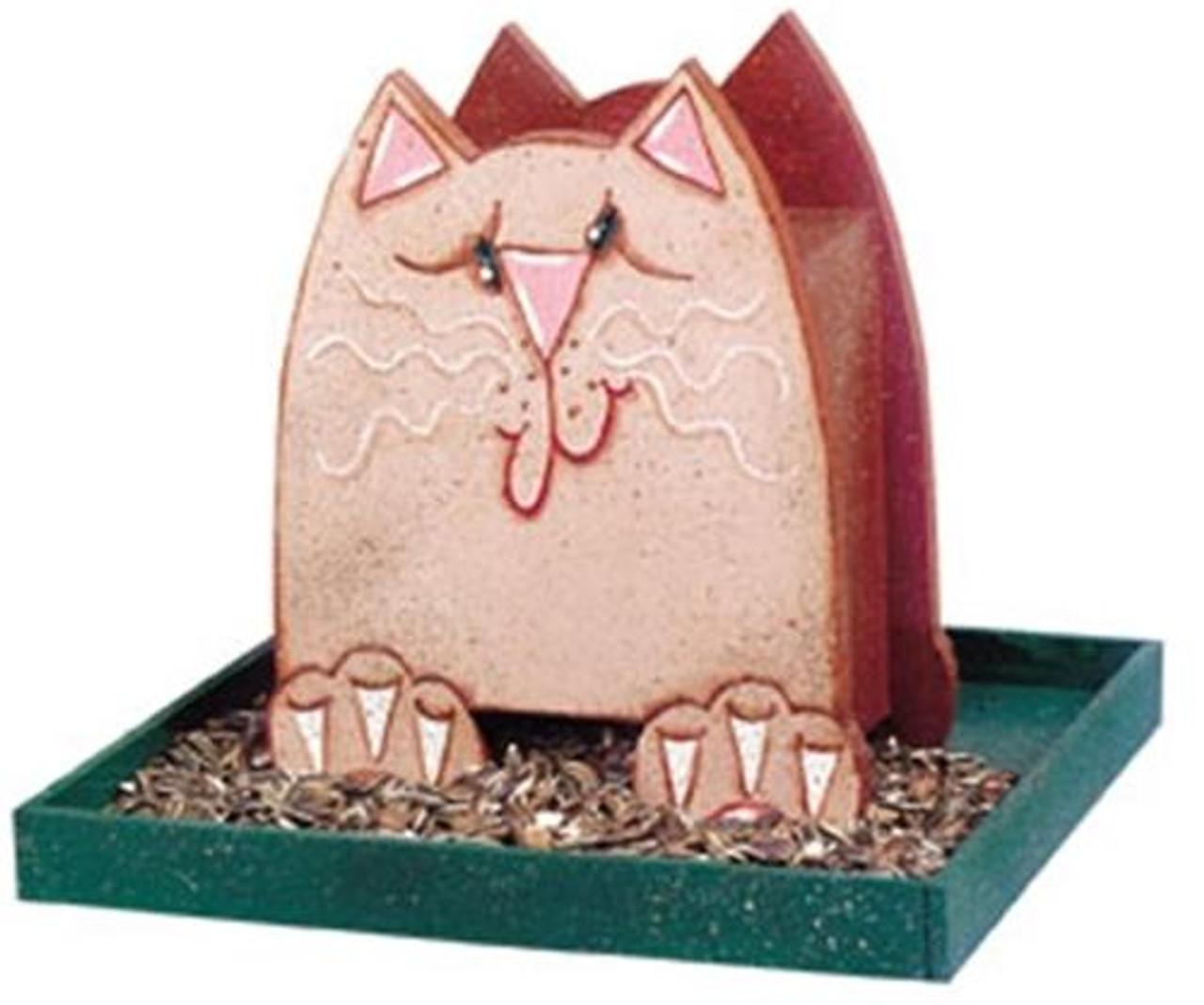 Cherry Tree Toys Tan Cat Feeder Plan