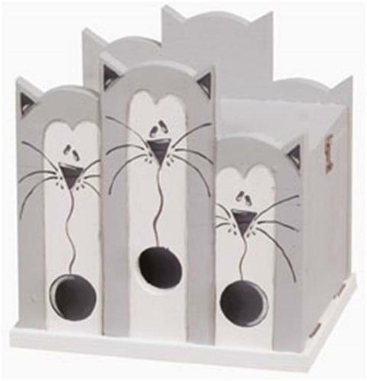 Cherry Tree Toys Grey Cat House Plan