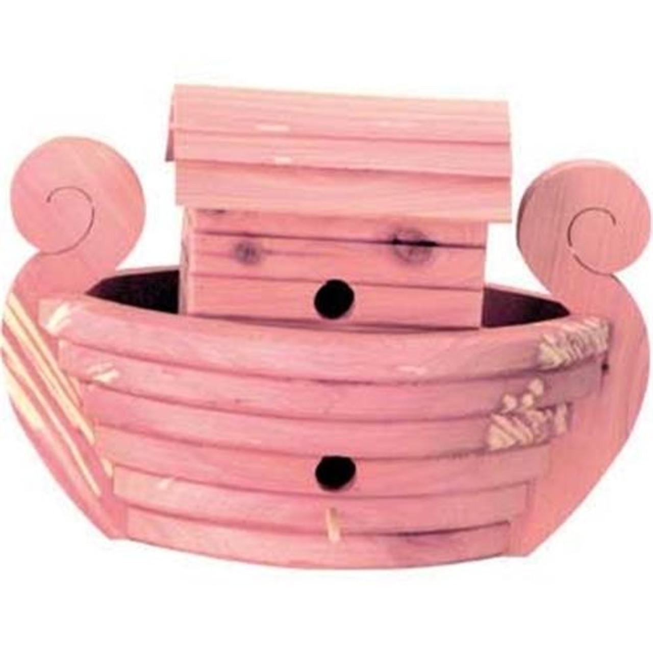 Cherry Tree Toys Noahs Ark Cedar Birdhouse Plan