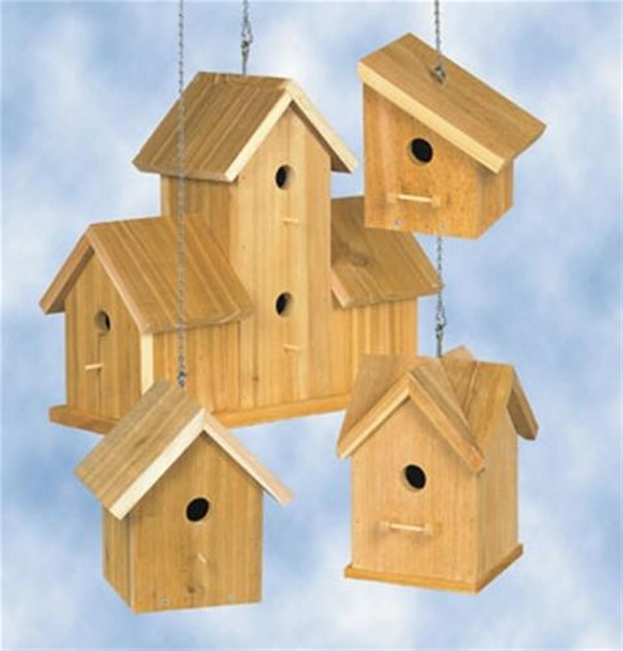 Winfield Collection Cedar Birdhouses #3 Plan