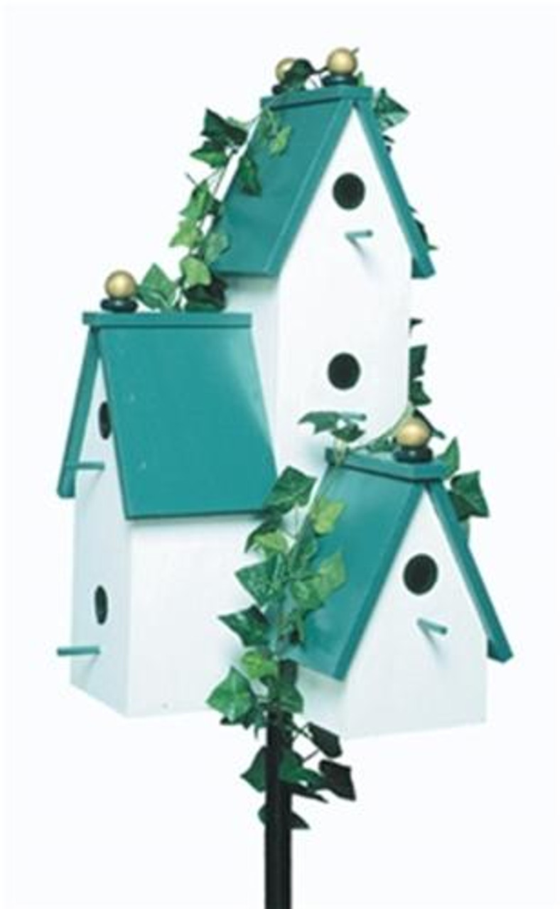 Winfield Collection Triple Tower Birdhouse Plan
