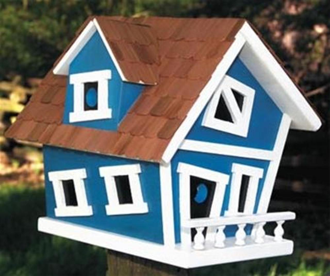 Cherry Tree Toys Leaning Birdhouse Plan