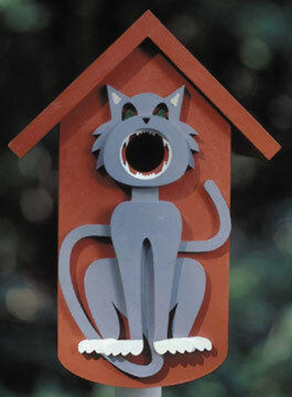 Wildwood Designs Cat Birdhouse Plan