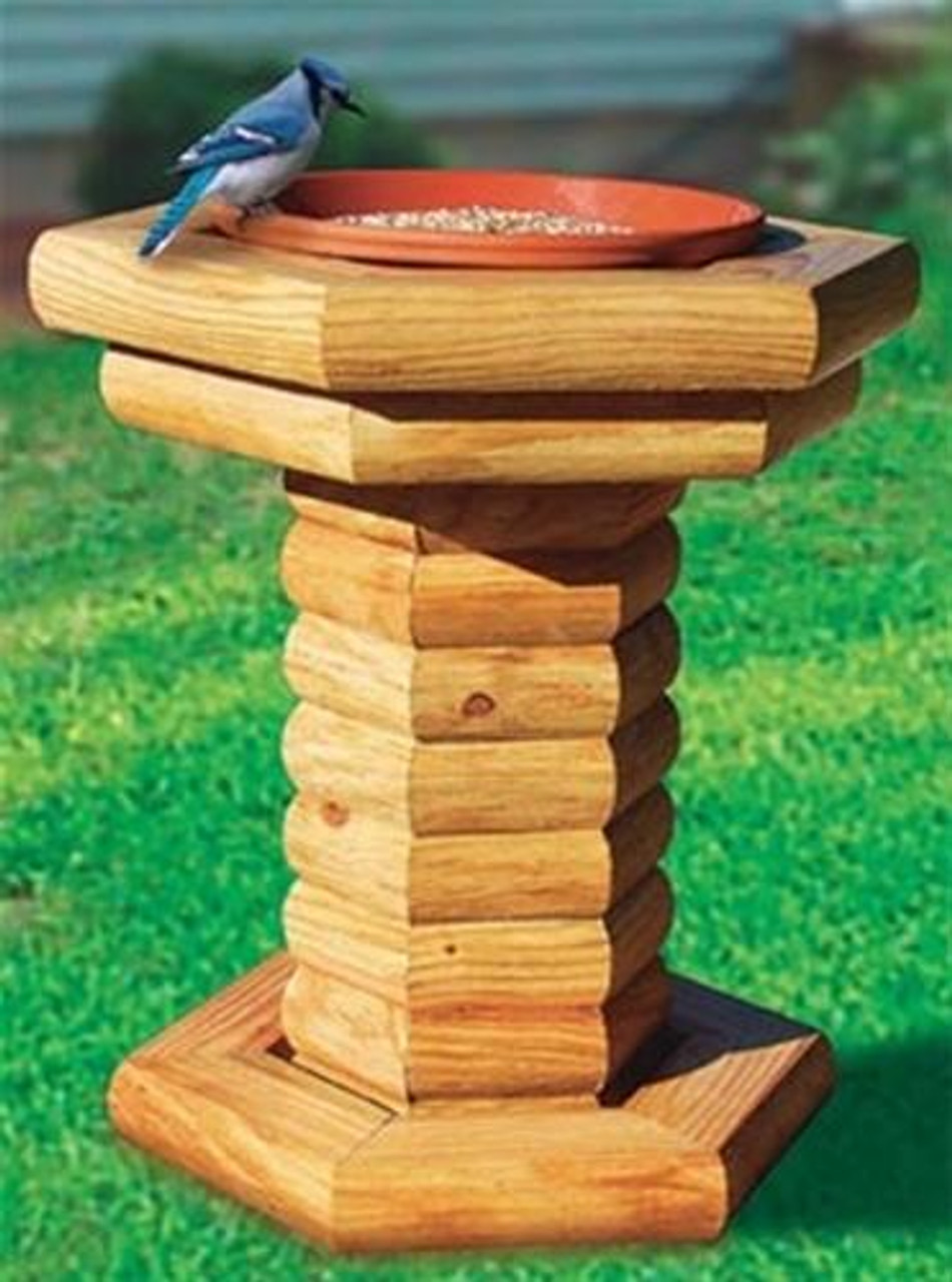 Winfield Collection Landscape Timber Bird Feeder Woodworking Plan.