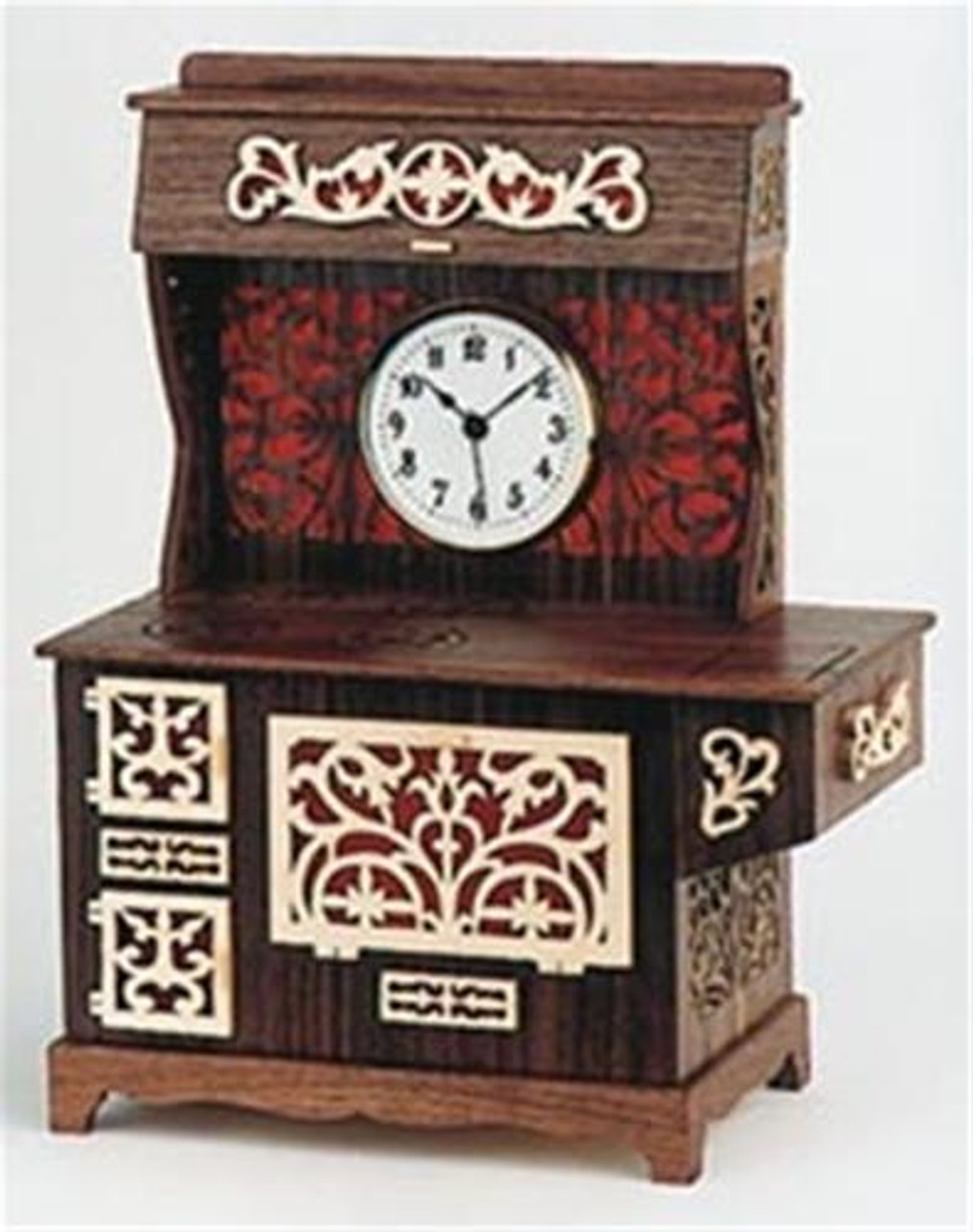 Wildwood Designs Kitchen Stove Clock Plan