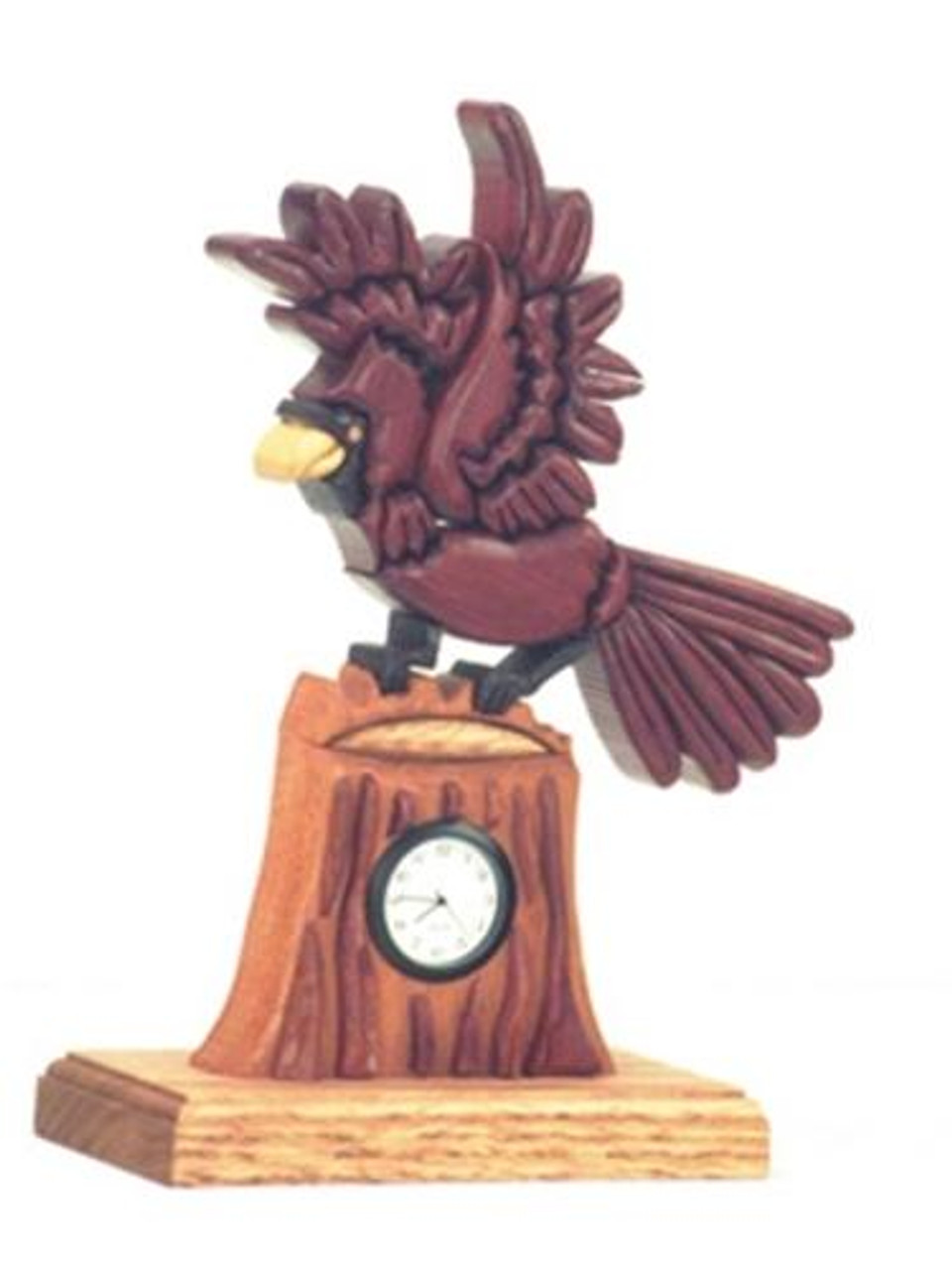Cherry Tree Toys Cardinal Clock Plan