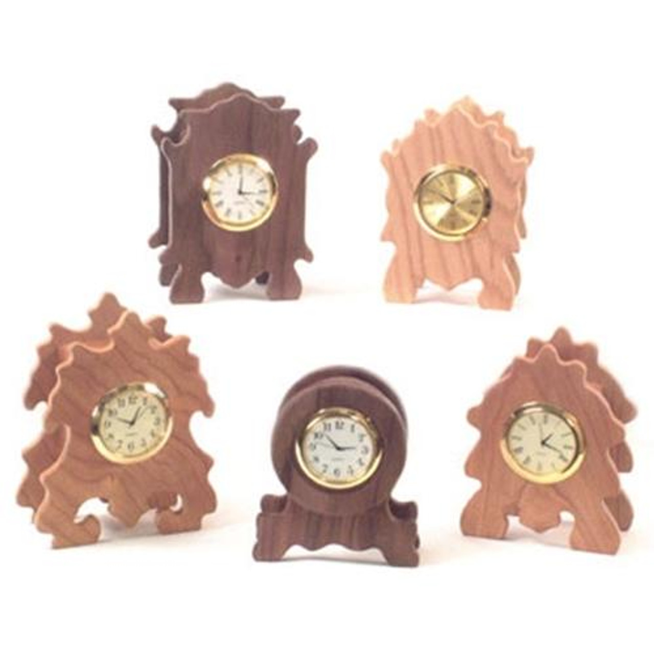 Cherry Tree Toys Mini Hardwood Clocks Plan