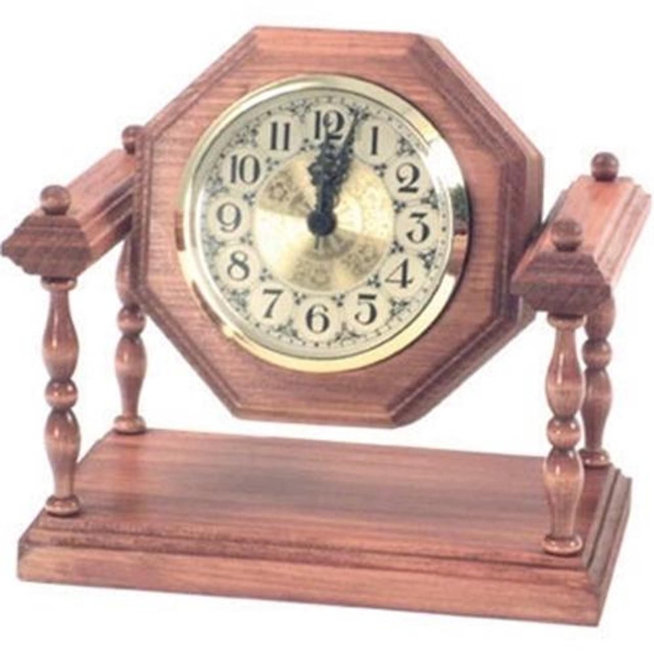 Cherry Tree Toys Rotating Secretary Clock Plan