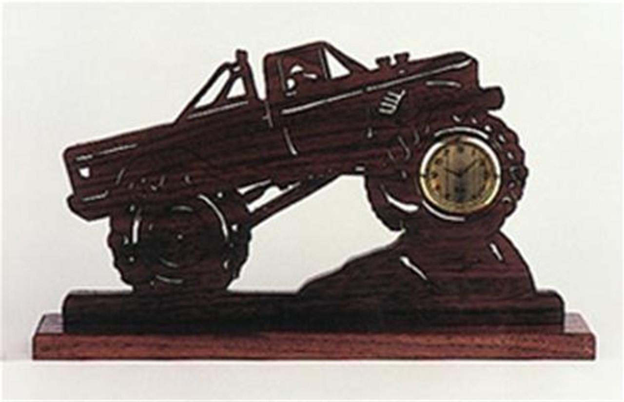 Wildwood Designs Monster Truck Clock Plan