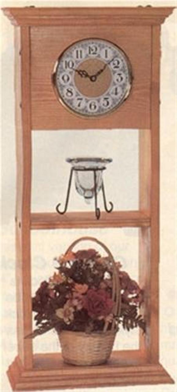 Cherry Tree Toys Shaker Clock Shelf Plan