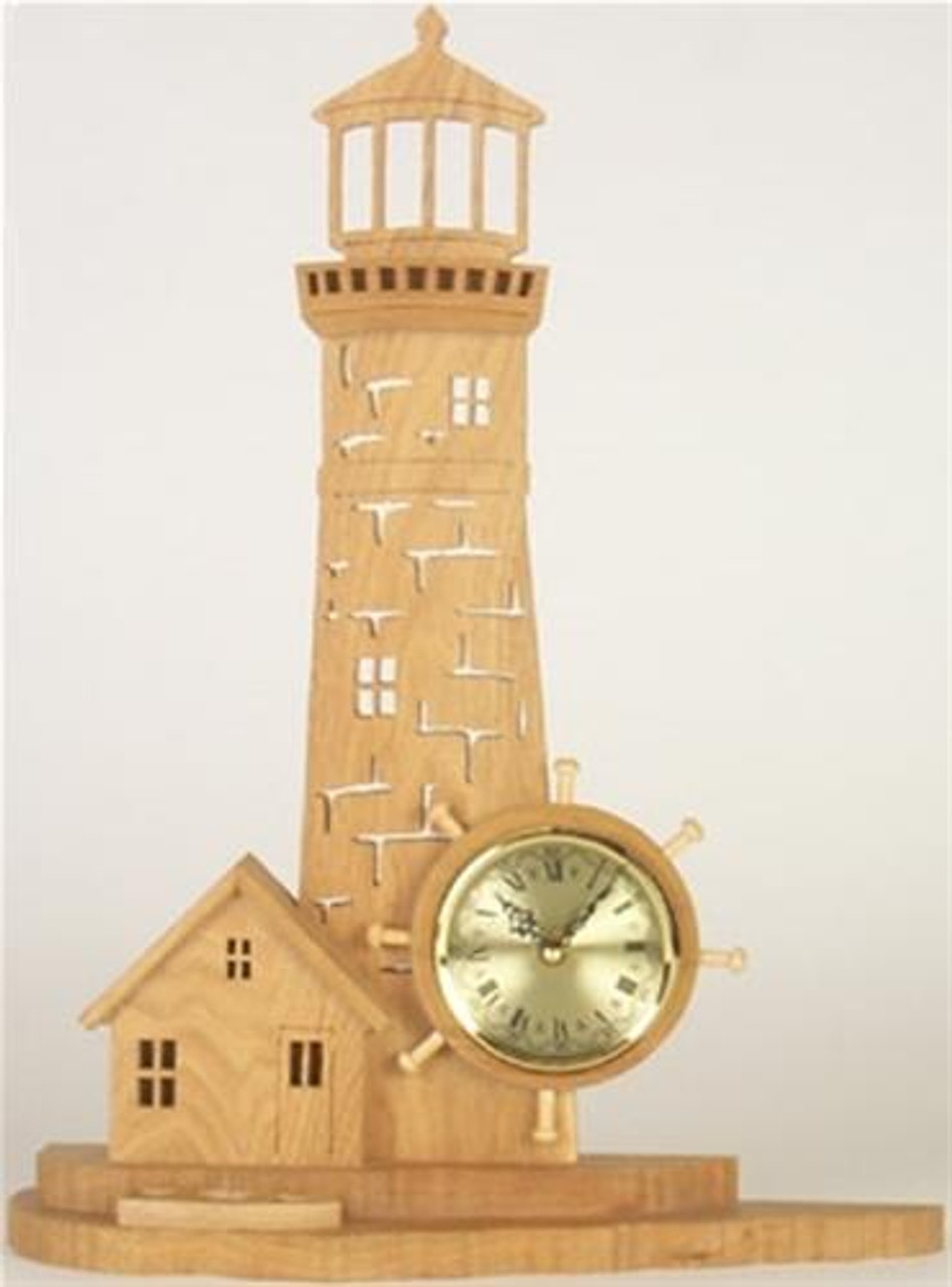 Wildwood Designs Lighhouse Clock Plan