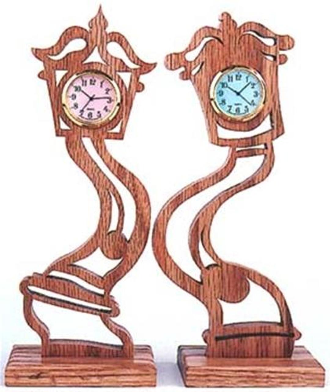 Wildwood Designs Curvy Clocks Plan