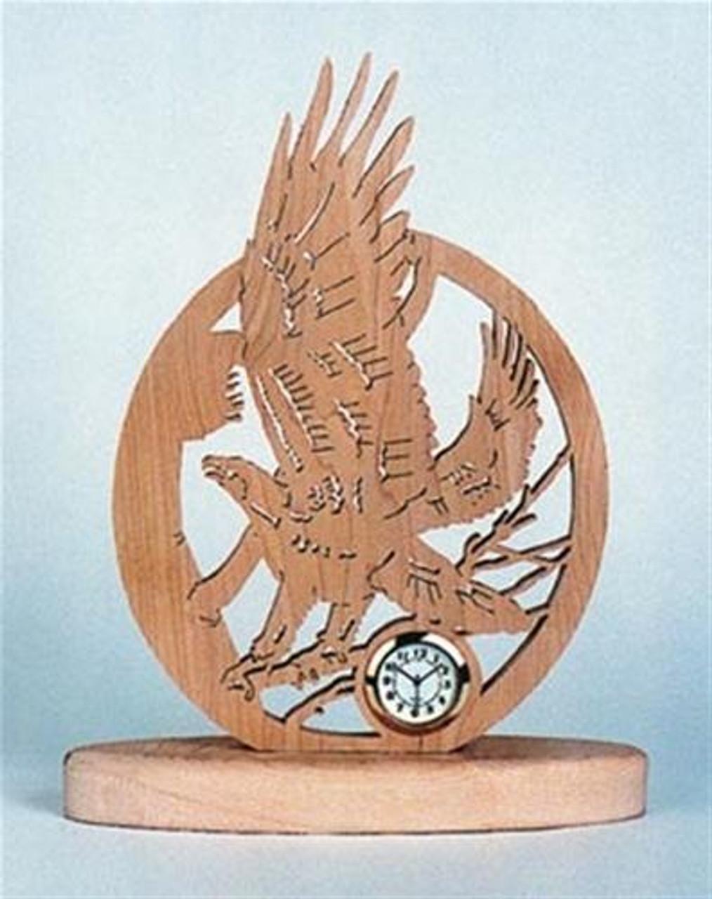 Wildwood Designs Eagle Clock Plan