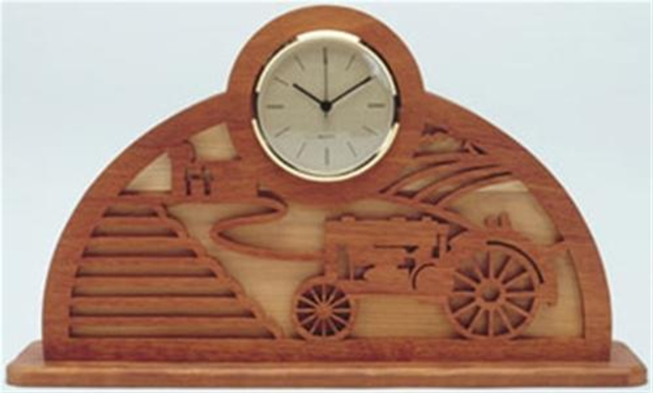 Wildwood Designs Farm and Tractor Clock Plan