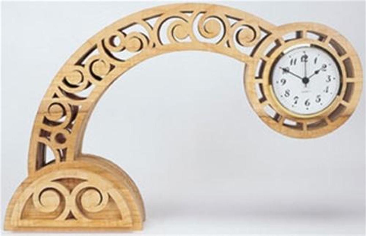 Wildwood Designs Buckshot Bent Clock Plan