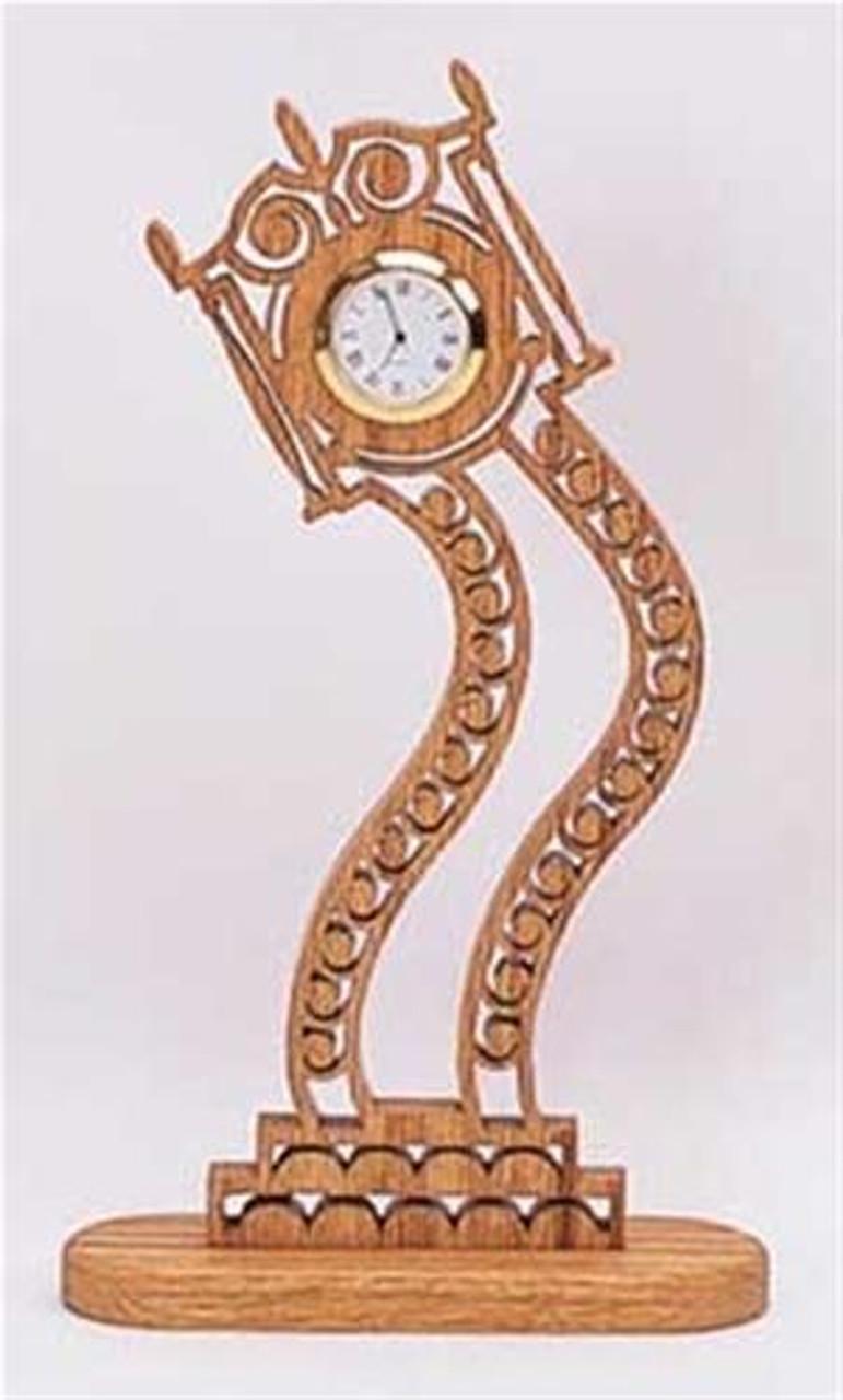 Wildwood Designs Curvy Grandma Clock Plan
